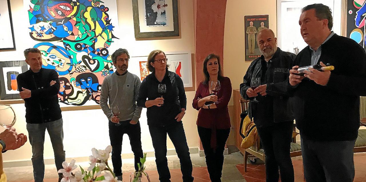 SANTA MARIA. DISCRETO Presentació vins Maceració Carbònica de Macià Batle. Fotos: Lola Olmo
