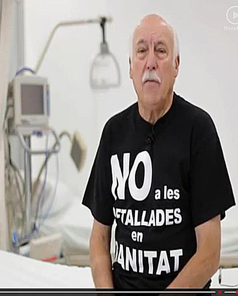 Actores de las Islas graban un vídeo contra el cierre del Joan March y el General