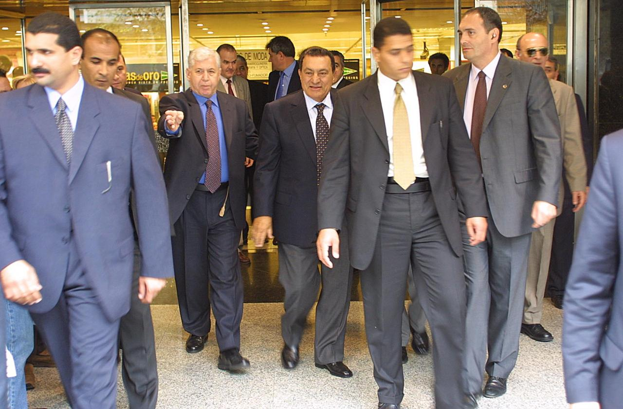 Mubarak visitó Mallorca