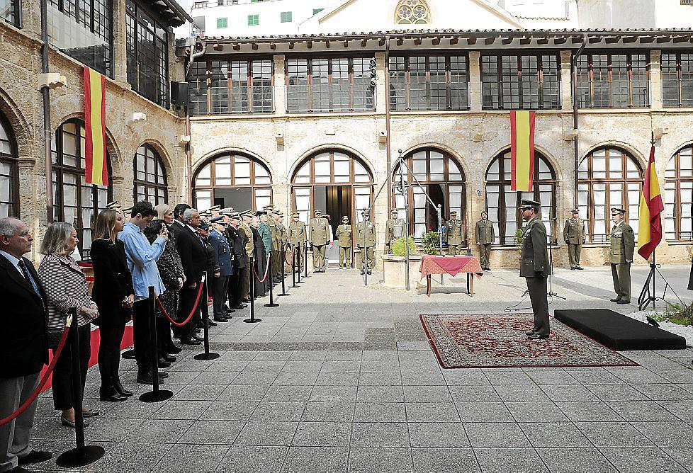 palma toma posesiion jaume galera centro historico militar foto mor