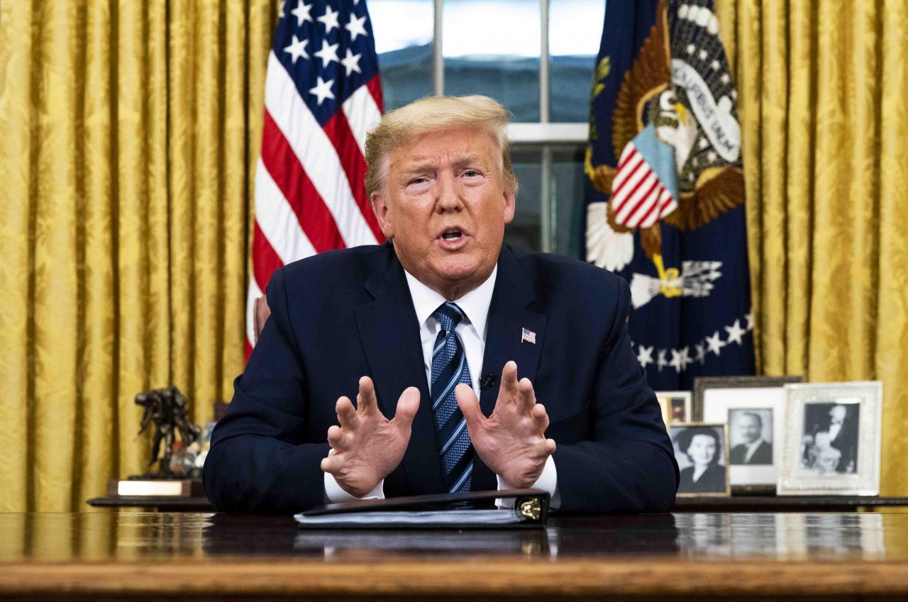 Segunda ola de coronavirus en EU no es temor para Donald Trump