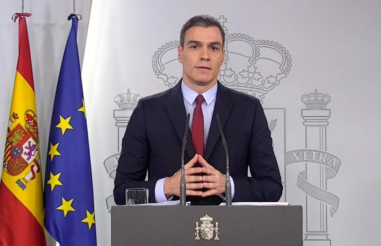 Sánchez confirma el reprobado general