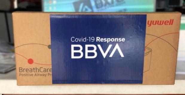 BBVA donará 25 millones de euros a la lucha contra el COVID-19