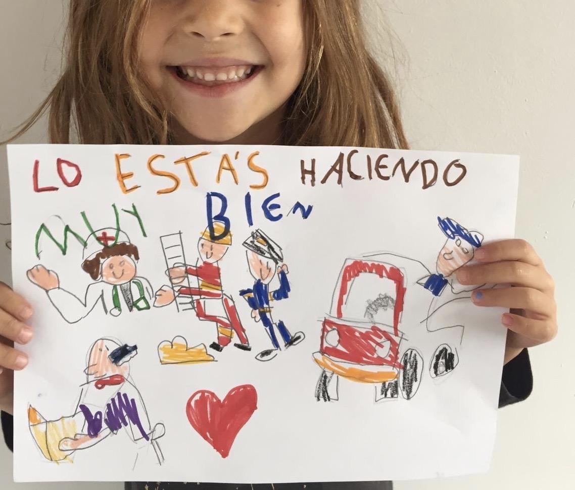 Un concurso artístico para niños durante el confinamiento