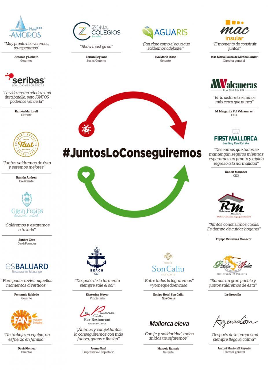 #JuntosLoConseguiremos