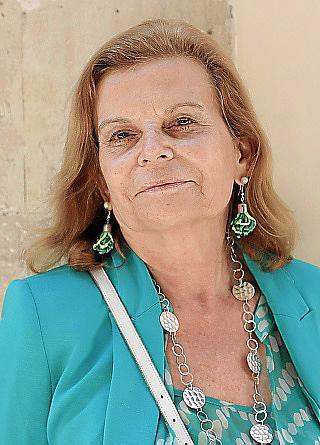 PALMA. ESCRITORES. Carme Riera , Escritora y academica de la RAE.