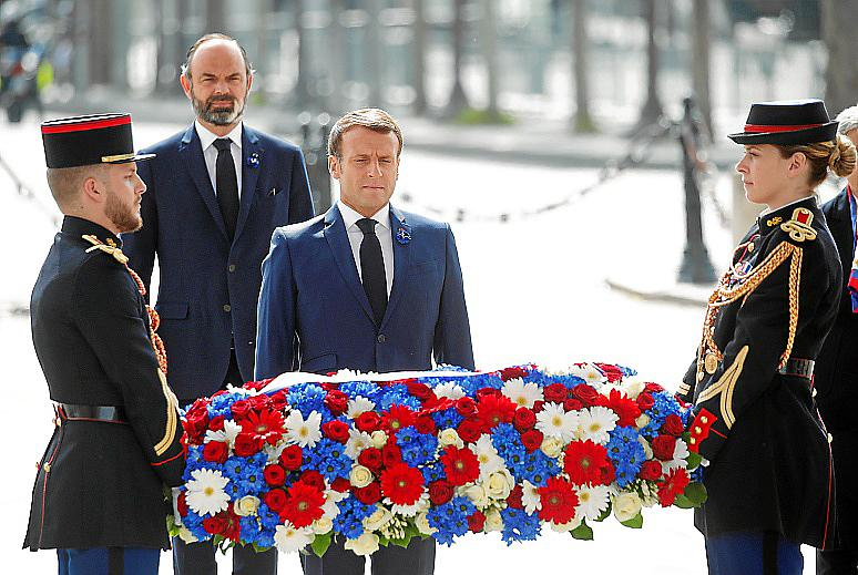 France WWII VE Day ceremonies