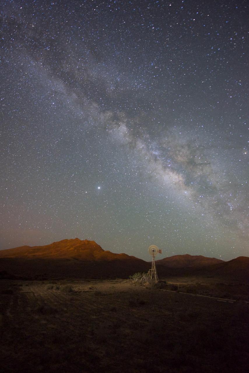 La Vía Láctea desde Fuerteventura
