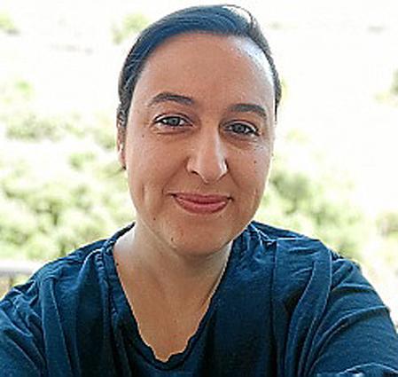 María Navarro, profesora de Secundaria en Sagrat Cor