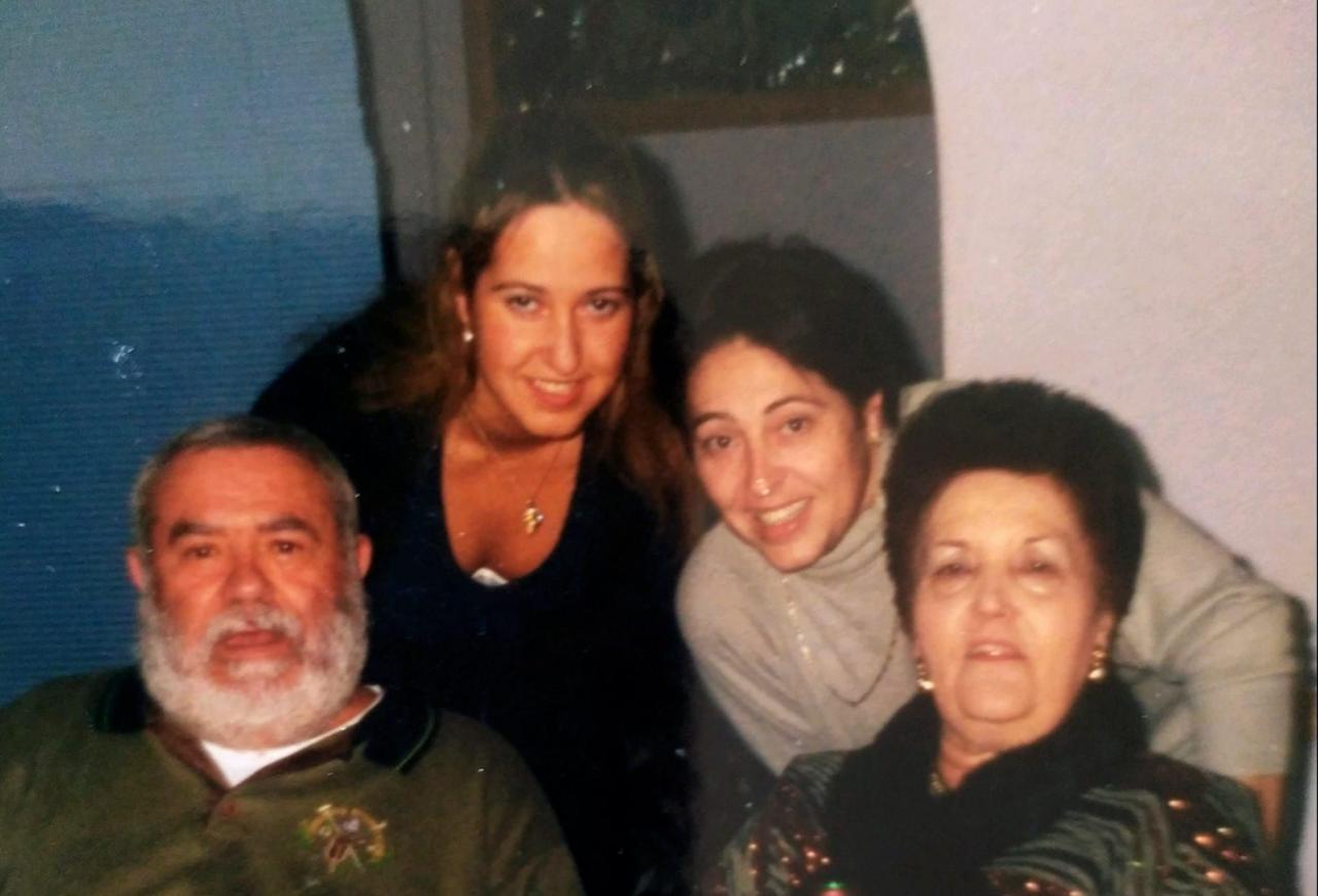Manuel disfrutaba de estar con su familia
