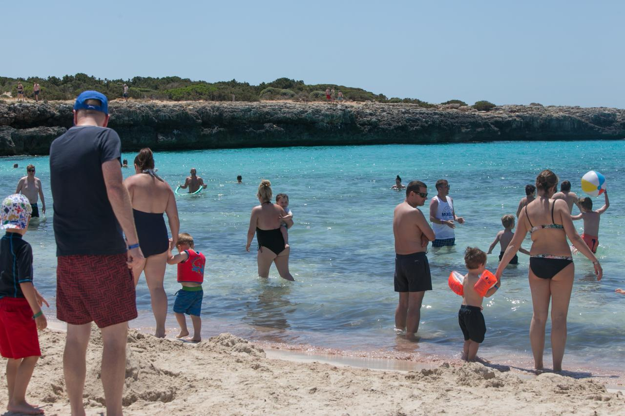 Los 10.900 turistas alemanes del plan piloto pasarán al menos 5 noches de estancia en Baleares