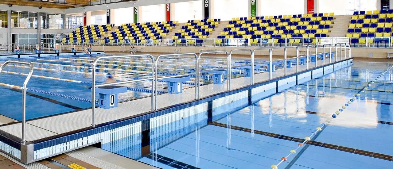 En la imagen, la piscina interior de Son Hugo, cerrada hasta mañana