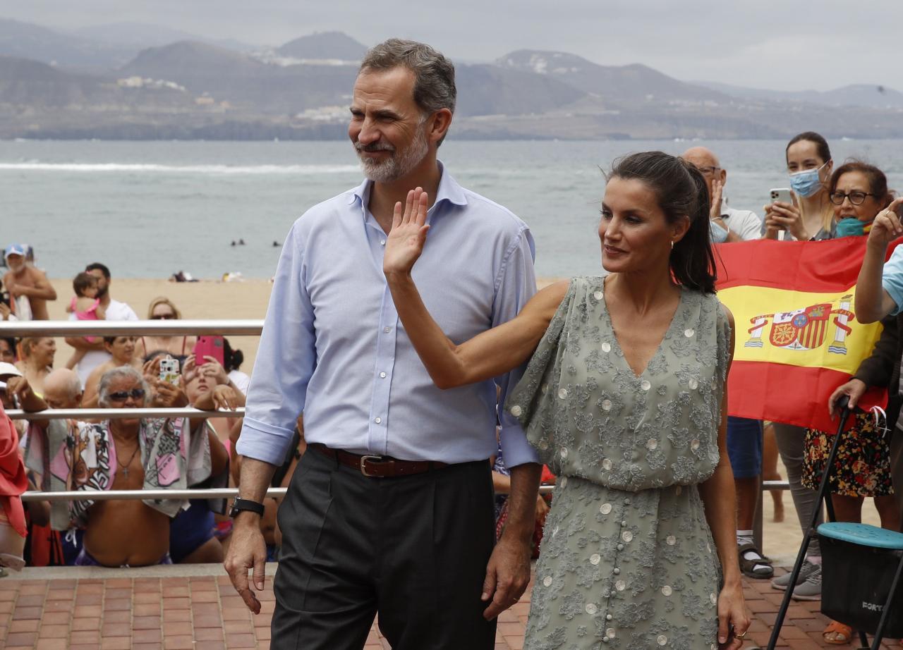 Visitan de los Reyes a Canarias