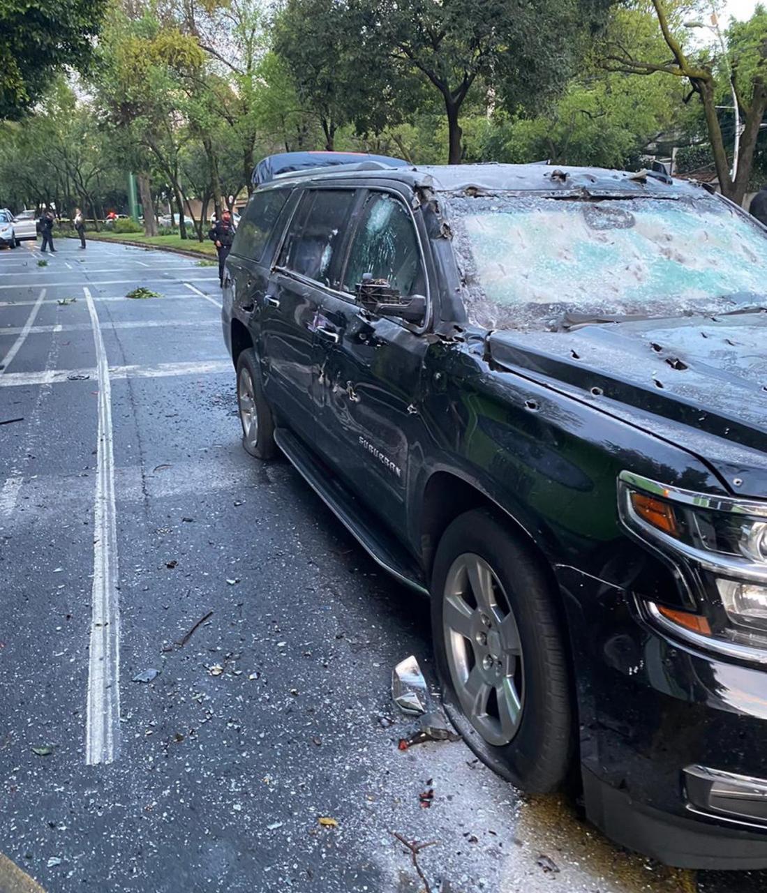 Atentan contra jefe de seguridad de Ciudad de México