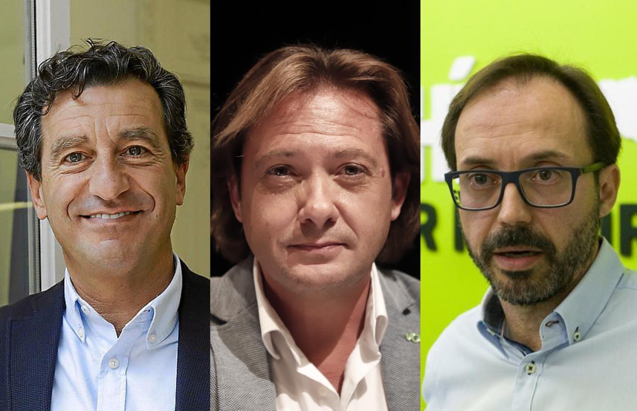 Biel Company, Jorge Campos y Josep Castells