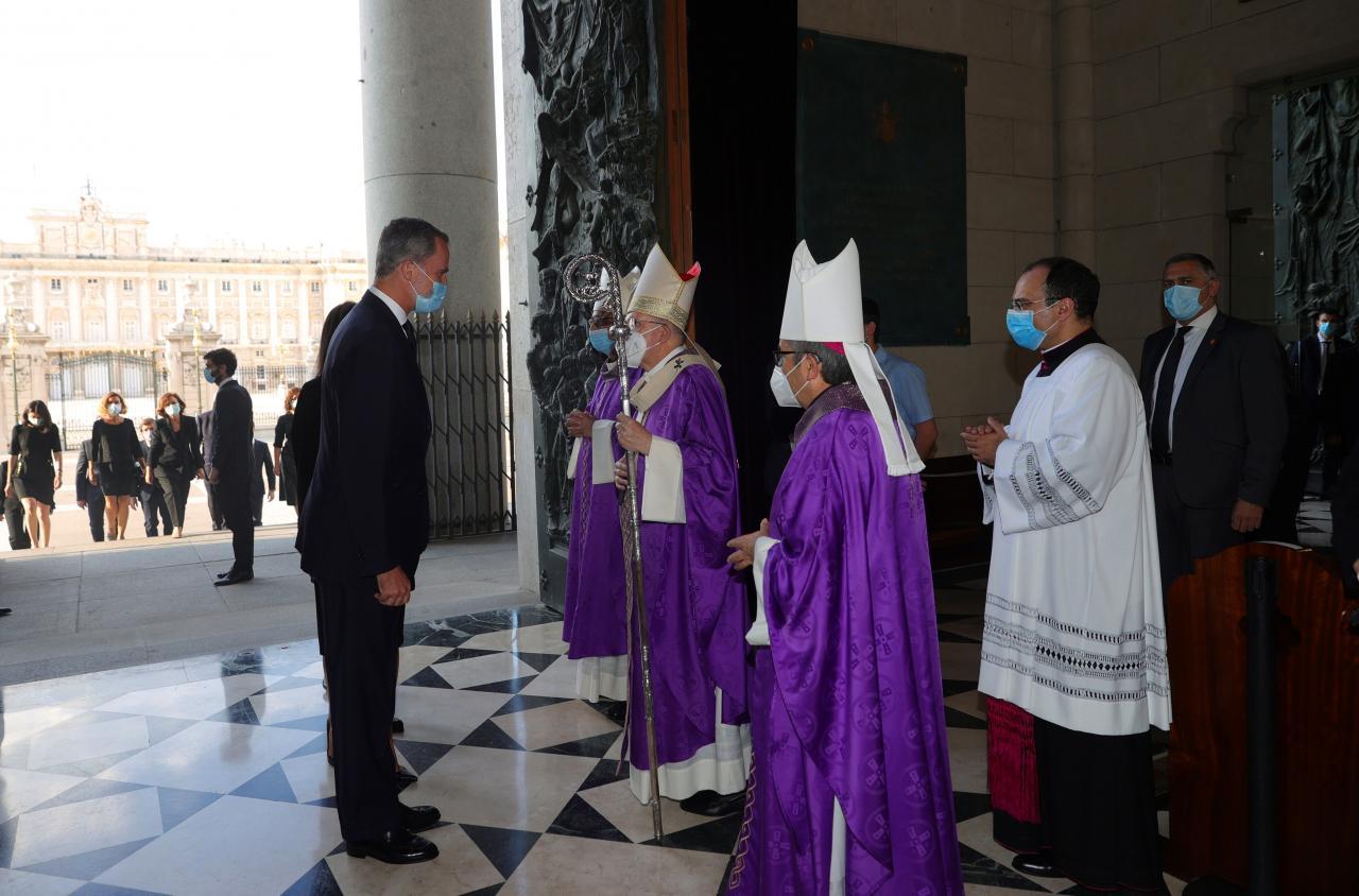 Misa funeral por las víctimas de la covid -19