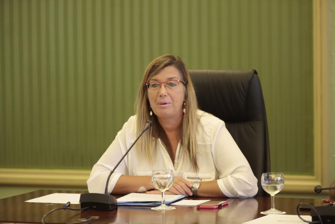 PALMA. POLITICA. Patricia Gómez, consellera de Salut i Consum