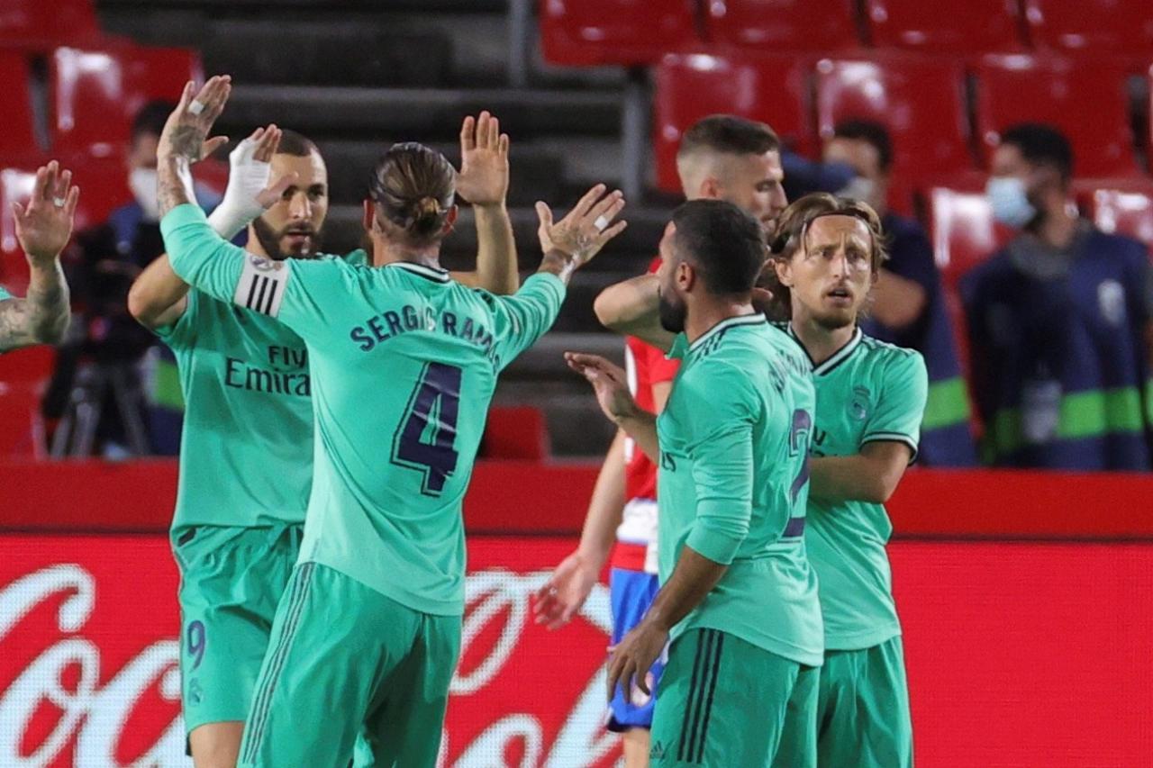 GRANADA CF REAL MADRID