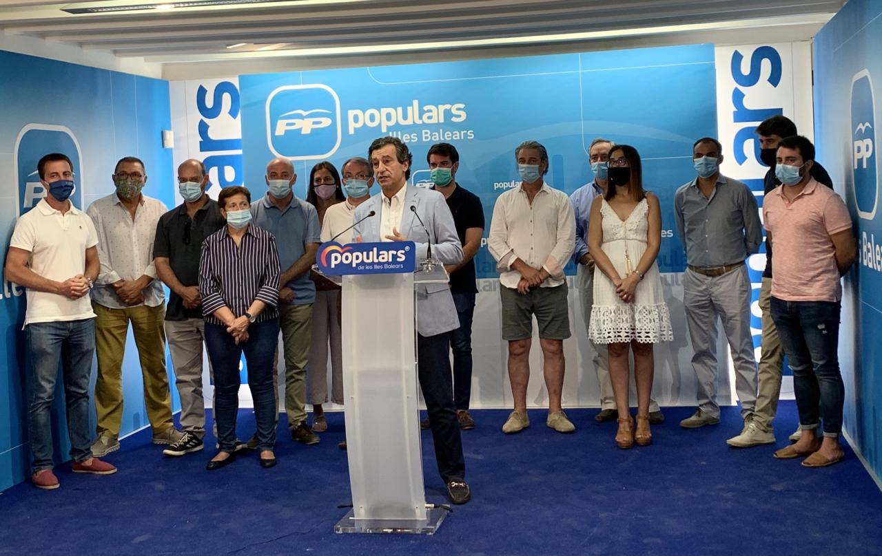 PP, PI y Més critican que Sánchez pretenda que los ayuntamientos presten dinero al Gobierno