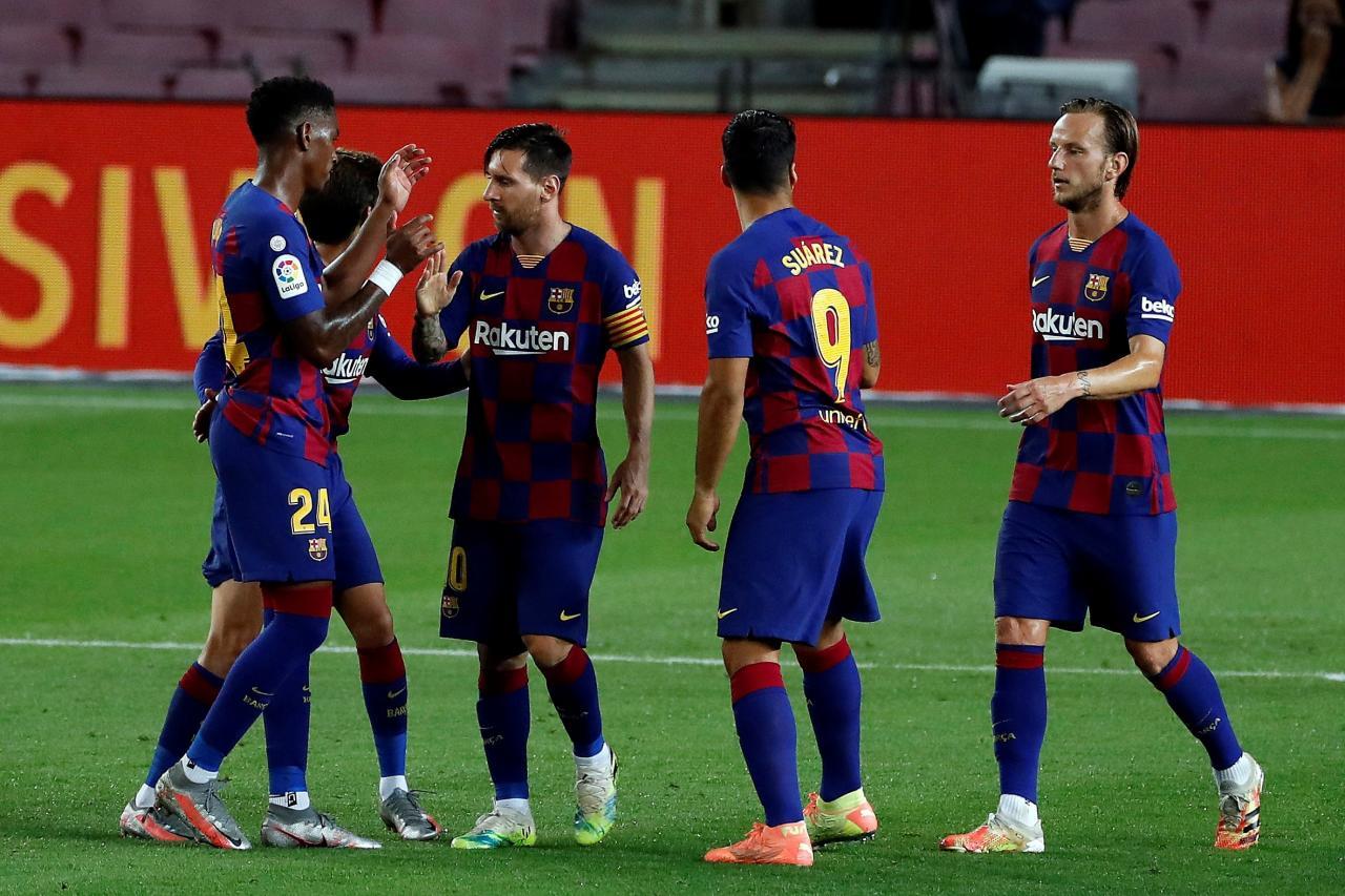 El Barcelona Pierde Ante El Osasuna La Noche Que Dice Adios A La Liga