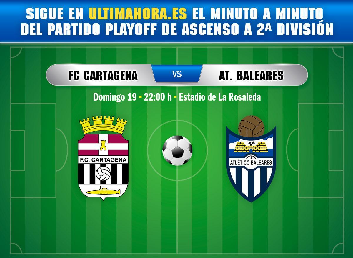 DIRECTO   Cartagena-Atlético Baleares