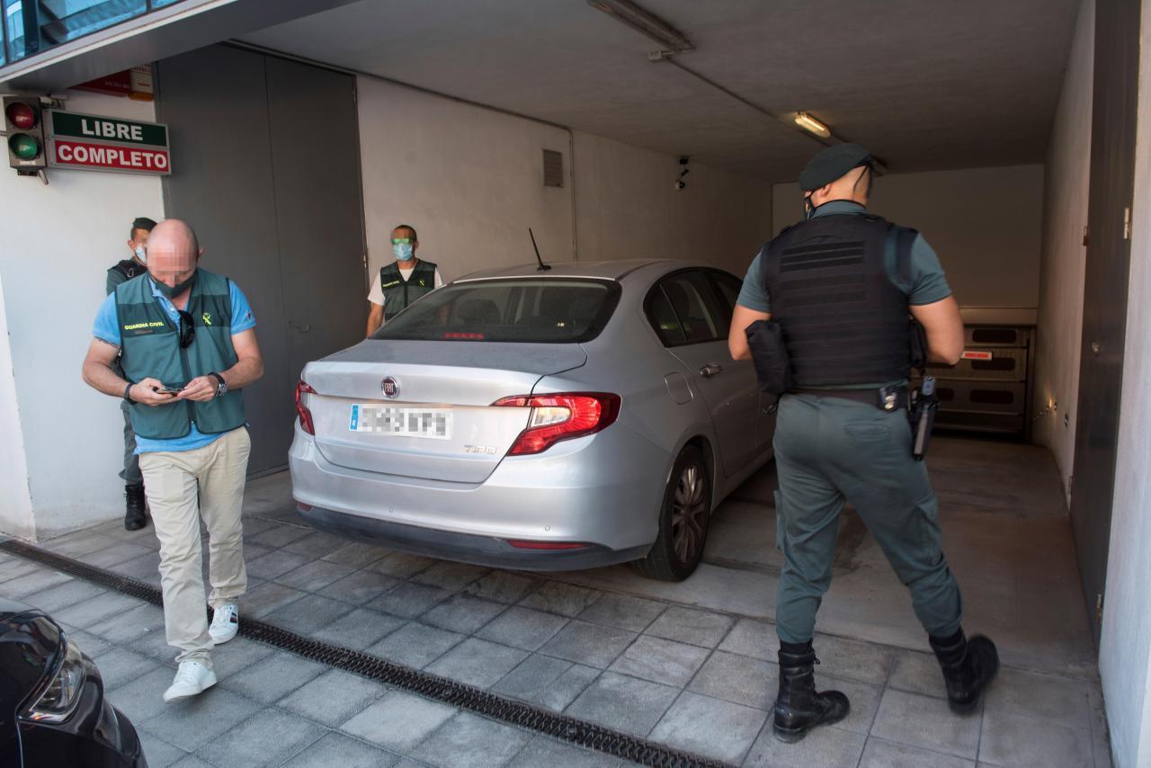 Detenidos en Palma