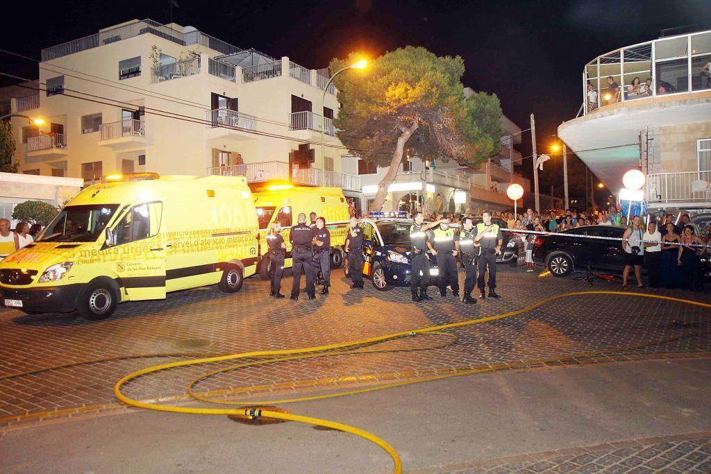 Un incendio en un octavo piso en Can Pastilla obliga a desalojar a más de 200 vecinos