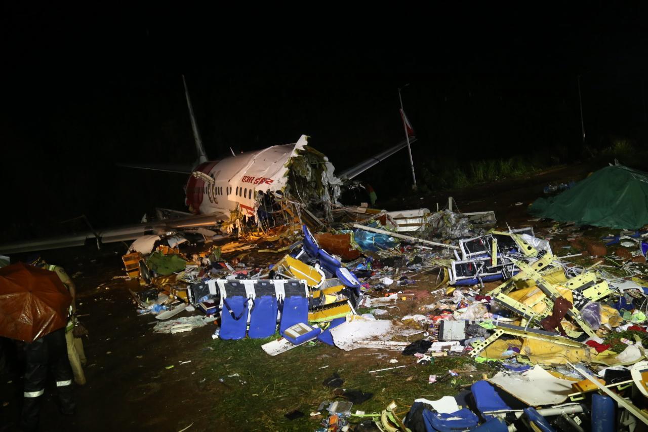 Accidente Air India Express tiene entre sus heridos a 10 niños y 174 pasajeros adultos