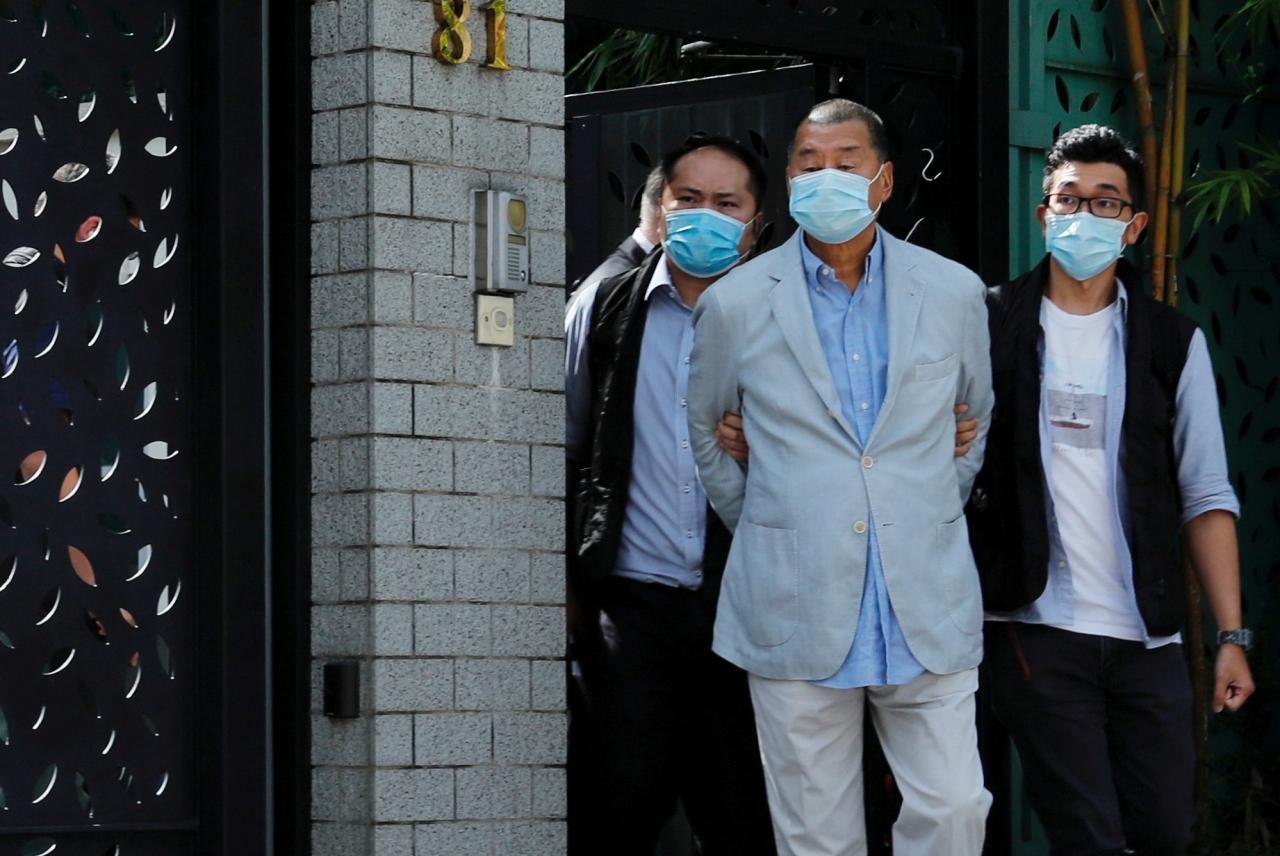 Jimmy Lai, magnate de Hong Kong crítico con China, detenido