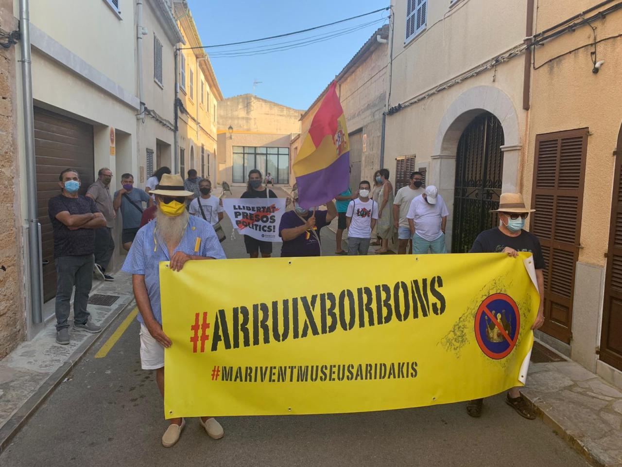 Arruix Borbons