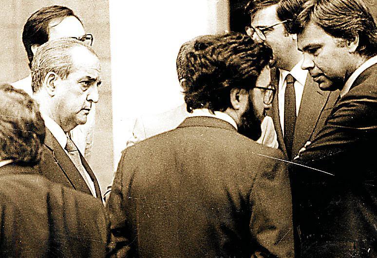 CONSEJO DE MINISTROS PRESIDIDO POR EL REY CELEBRADO EN MALLORCA EN AGOSTO DE 1983
