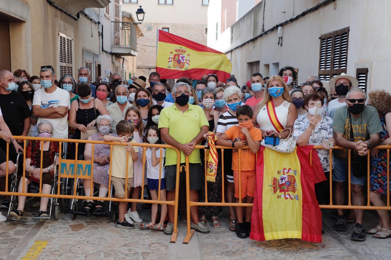 MALLORCA - VACACIONES DE LA FAMILIA REAL EN MALLORCA.