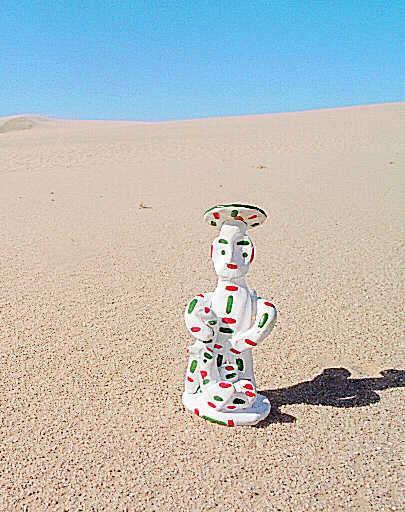 Sobre la arena quedó el siurell. Nosotros tampoco olvidaremos al pueblo saharaui.