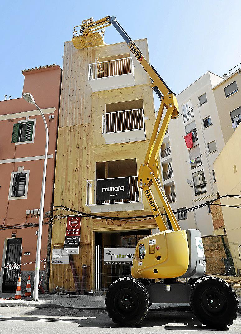 Palma se suma al auge de construcción de viviendas prefabricadas de madera