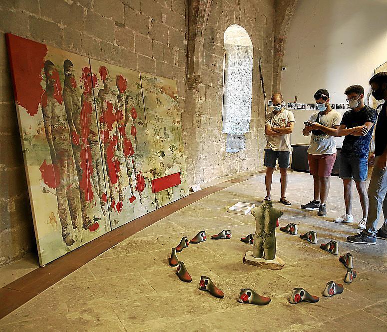 palma expo fundacion Vicente ferrer en Bellver foto cañellas~10.jpg
