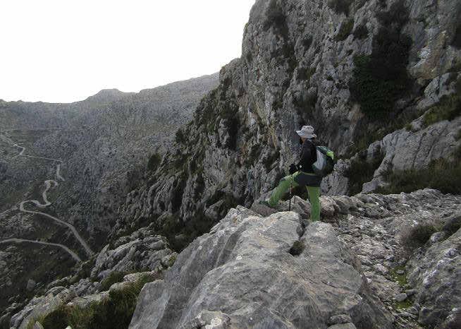 Senderismo en Mallorca - Es Clots Carbons