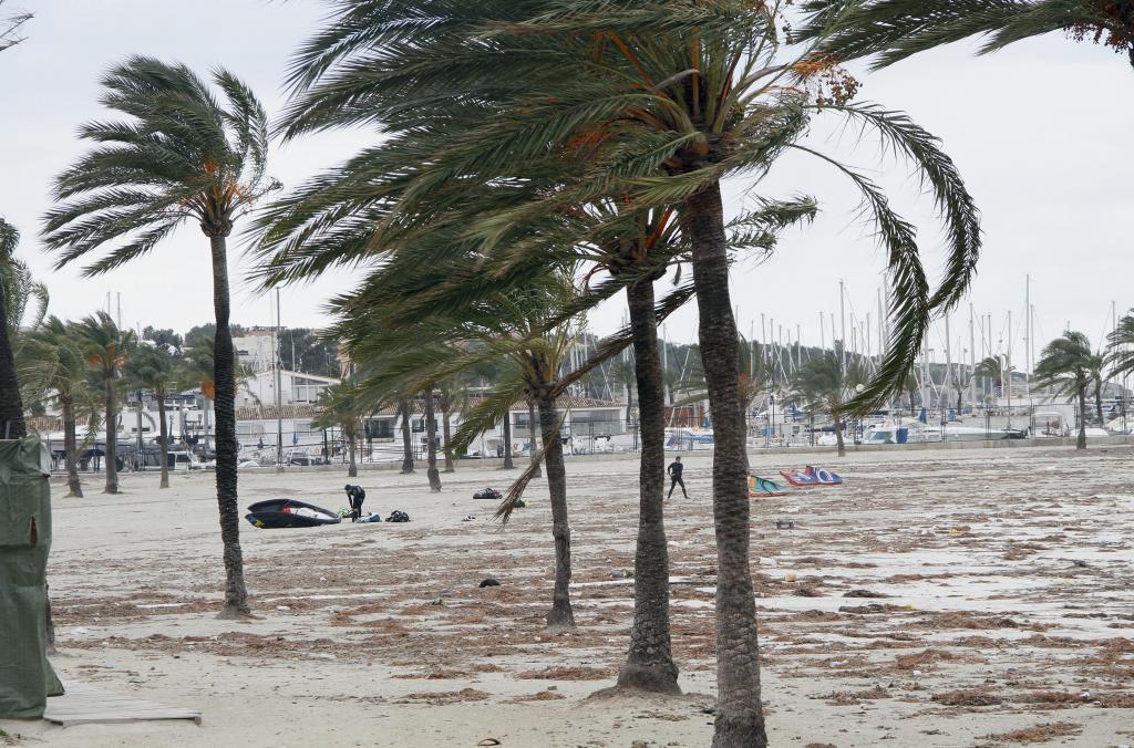 Llega a Mallorca el primer temporal del otoño