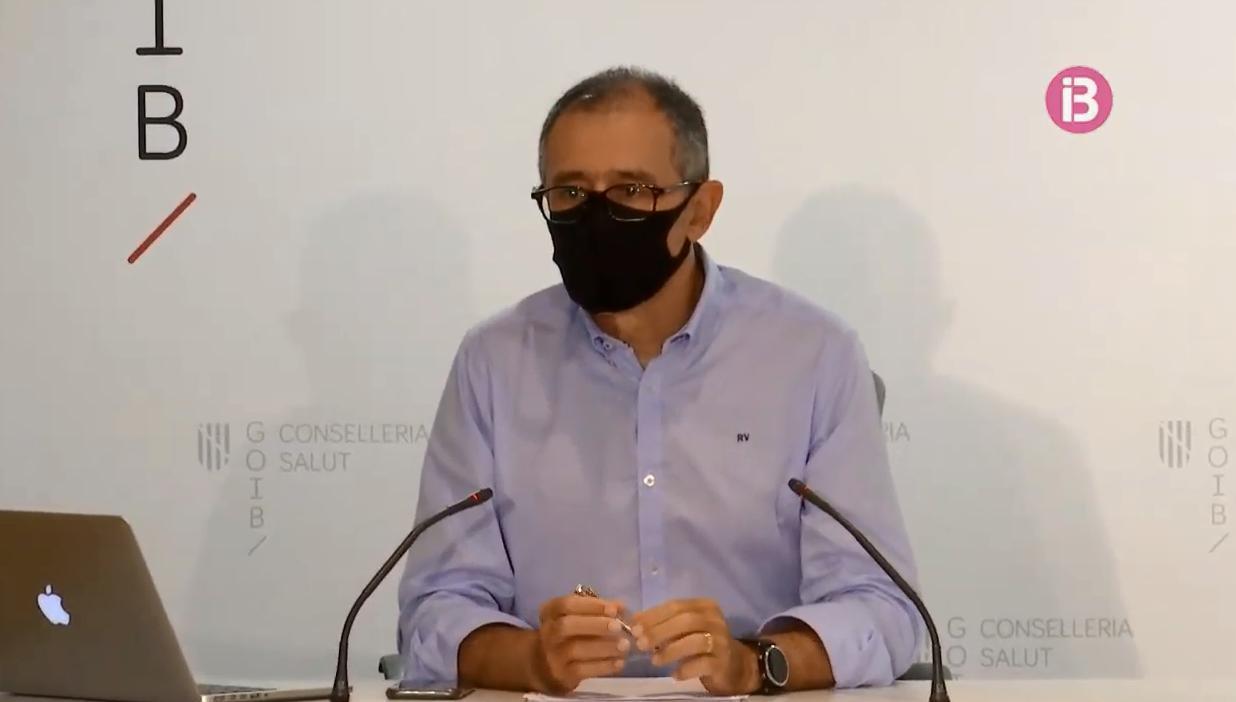 Arranz, optimista con la evolución de la pandemia en Baleares
