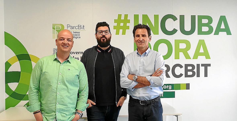 David Bustos, Manuel Guerrero y Rafael Soler, técnicos para la creación de empresas de base tecnológica en la Fundació Bit, dieron un módulo formativo sobre la validación del plan de negocio.