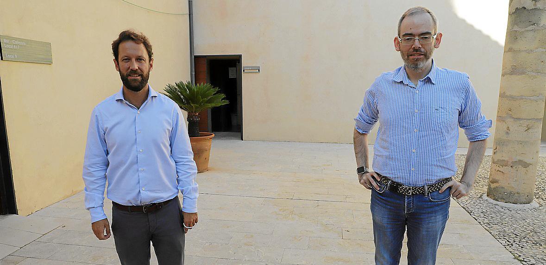 Miquel Rullán y Jorge Morell impartieron un módulo sobre los aspectos legales del emprendedor.