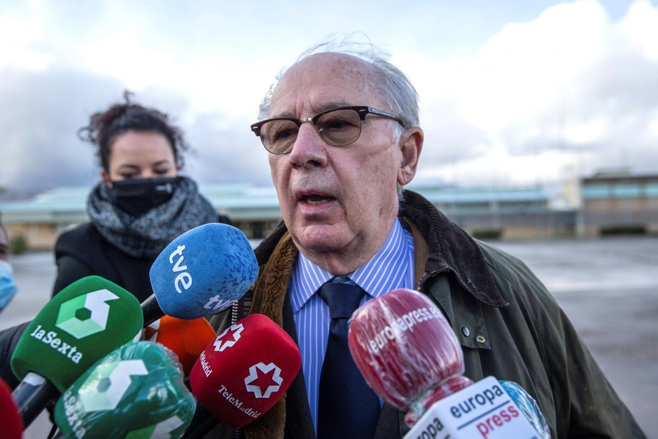 Rodrigo Rato abandona la prisión tras obtener el régimen de semilibertad