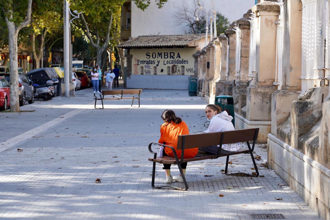 Los residentes en Son Fortesa sur, s'Arxiduc, la Plaza de Toros y un tramo de Son Oliva ya pueden entrar y salir de sus calles.