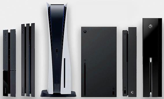 Playstation 5 comparación consolas