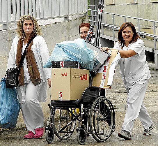 TRASLADO DEL HOSPITAL MATERNO INFANTIL DE SON DURETA AL HOSPITAL UNIVERSITARI DE SON ESPASES
