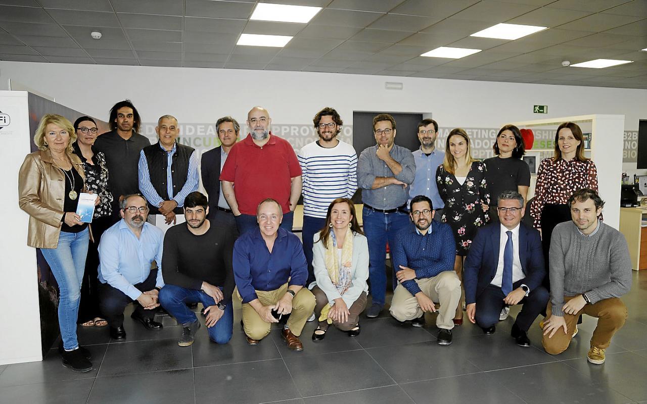 Primera toma de contacto de los ocho finalistas de la categoría Connect'Up Grow. La multinacional mallorquina, Inn Sampol ganó el primer premio.