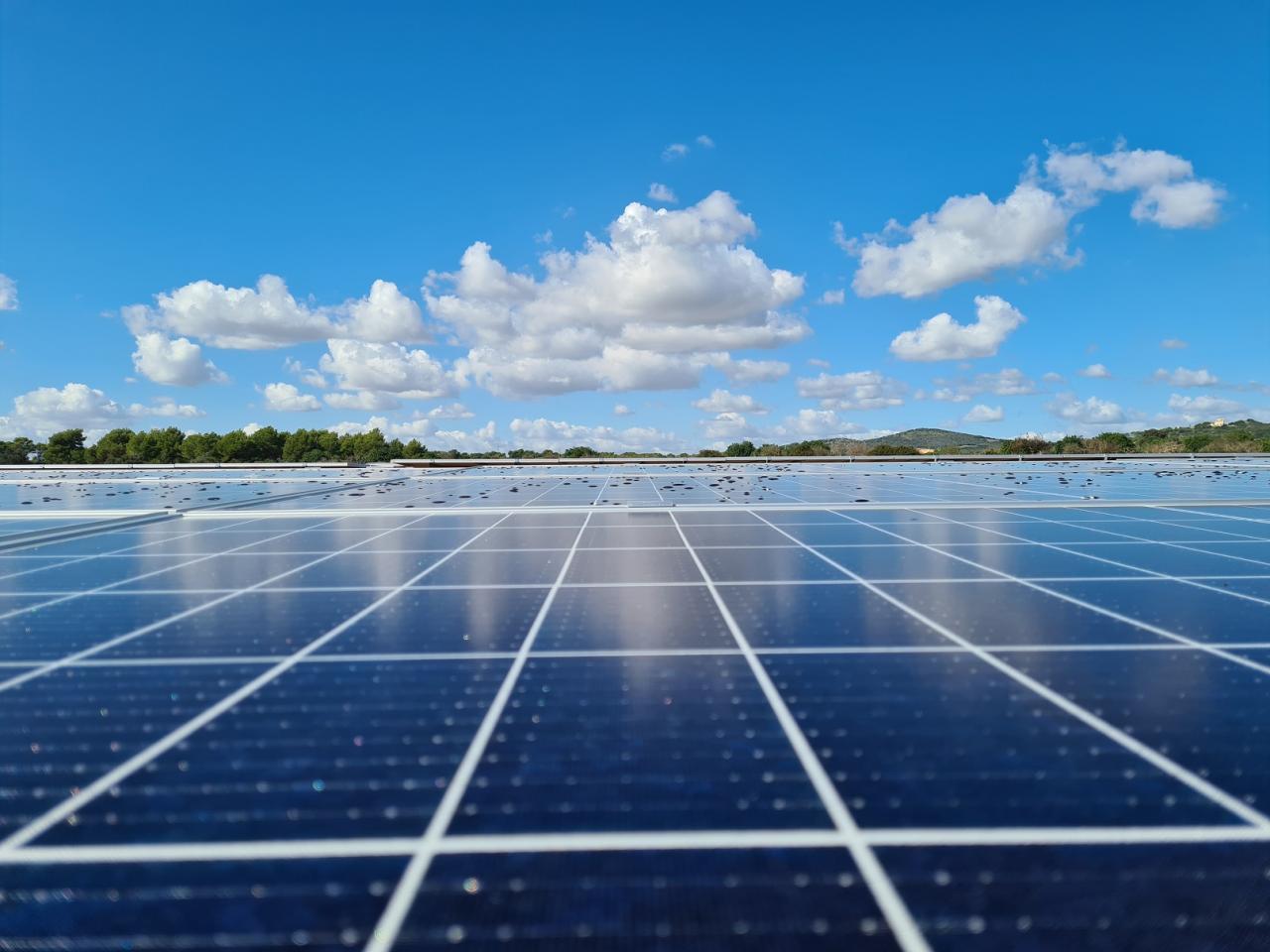 Imagen del proyecto fotovoltaico