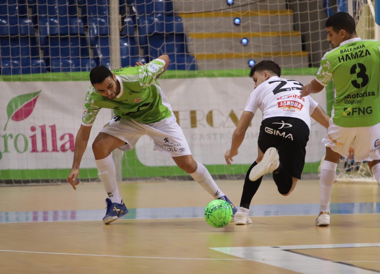 Palma Futsal y el Ribera Navarra FOTO: BOTA