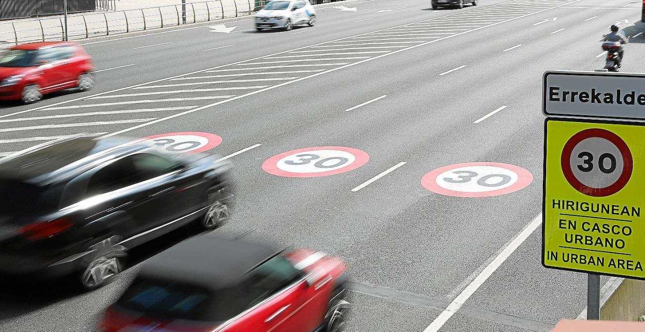 Bilbao implanta el límite de 30 km/h a partir de este martes