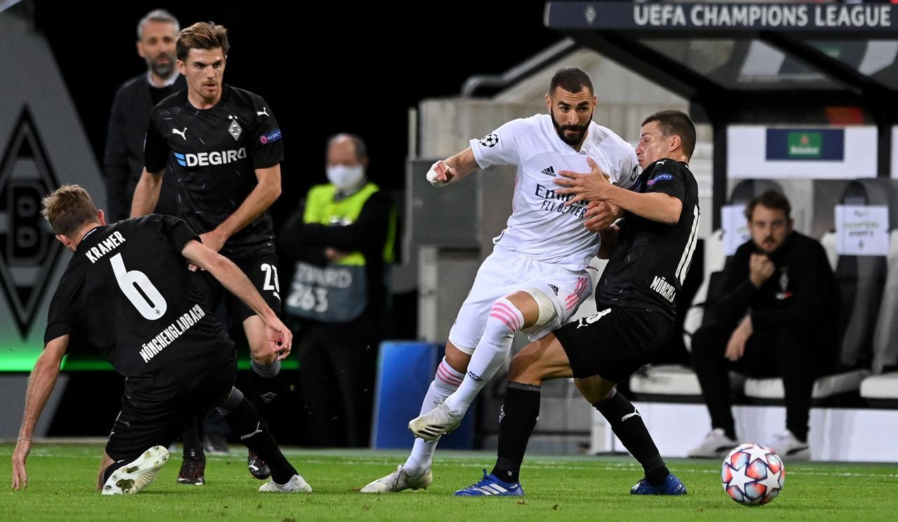 Borussia Moenchengladbach vs Real Madrid