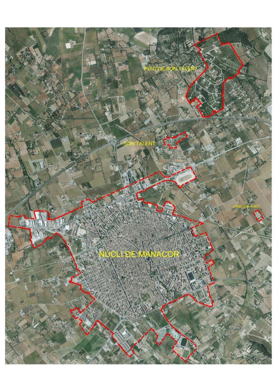 Estas son las zonas definitivas de confinamiento de Manacor